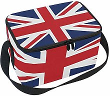 WowPrint Insulated Lunch Bag, UK Union Jack Flag