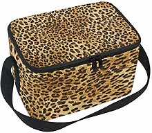 WowPrint Insulated Lunch Bag, Vintage Animal Tiger