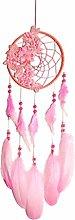 WOYA Handmade Dream Catcher Net With Feathers