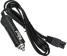 woyada Cigar Plug 2m 12V DC-Power Cable Cord, 2