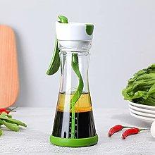 woyada Salad Dressing Shaker,Glass Kitchen
