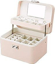 WOZUIMEI Jewellery Box Storage Automatic Disk