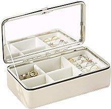 WOZUIMEI Small Jewelry Box Mini Travel Jewellery