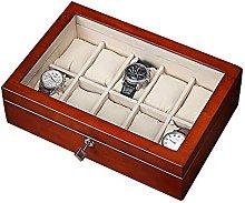WOZUIMEI Watch Box Organizer Case 10 Slot