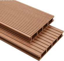 WPC Decking Boards with Accessories 16 m2 2.2 m