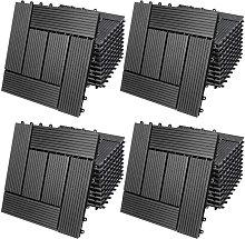WPC Decking Tiles Waterproof Flooring Terrace