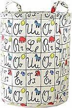 WPCASE Kids Laundry Basket Toy Storage Bag Laundry