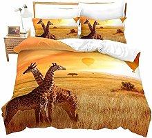 WPHRL Yellow sky grass animal giraffe hot air