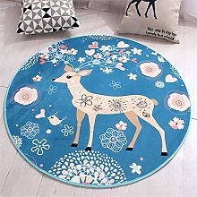 WQ-BBB Beautiful super soft Room Rugs Round