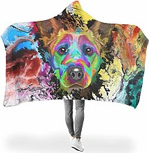 Wraill Hoodies Blanket Cattle Dog Colourful