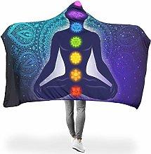 Wraill Hoodies Blanket Seven Chakras Meditation