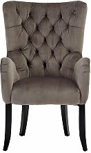 Wren Wingback Chair Ophelia & Co. Upholstery: Grey