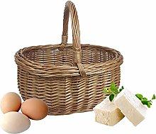 Wrenbury Wicker Basket Shopping Basket Small  
