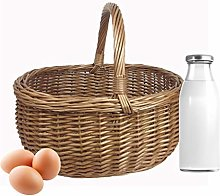 Wrenbury Wicker Basket Shopping Basket   Willow
