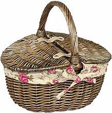 Wrenbury Willow Wicker Basket Shopping Basket