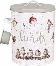 Wrendale Feed The Birds Tin Pet Food Storage Jar