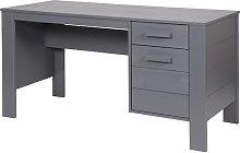 Wrexham Wooden Computer Desk In Solid Pine In