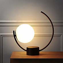 WRISCG Table Lamp Modern Minimalist Creative