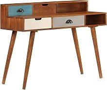 Writing Desk 110x50x90 cm Solid Acacia Wood