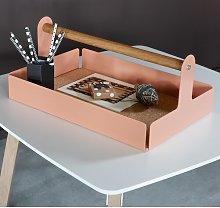Writing Desk Box Symple Stuff Colour: Beige red