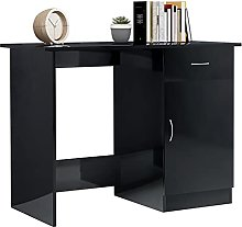 Writing Desk Computer Desk with Drawer and Storage