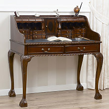 Writing desk Lady Chippendale Style secretary