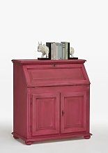 Writing desk Union Rustic Colour: Pink