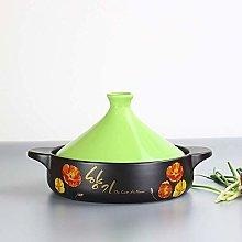 WRMIGN Casseroles Pot Ceramic Moroccan Tagine Pot,