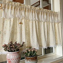 WRMING Short Curtains for Kitchen Window Kids