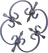 Wrought Iron Ornate Grill Window Steel Iron Forged
