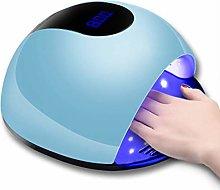 Wsaman 72W UV LED Nail Lamp Gel Fingernail Polish