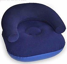 Wsaman Soft Padded Leisure Inflatable Sofa Chair,