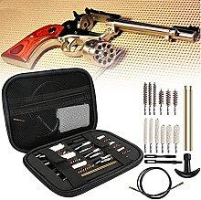 wsbdking Gun Cleaning Brushes Set, 19 Pcs Handgun