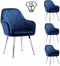 WSDSX Dining Chair, Armrest Cushions, High Chair,