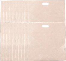WSERE 20 Piece Non Stick Glass Fiber Toaster Bags,