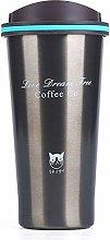 WSGYA Stainless Steel Thermos Thermos Mug Coffee