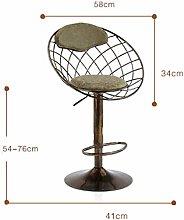 WSHFHDLC Bar stools retro classic retro design
