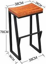 WSHFHDLC Classic Design Bar Stool Stool Vintage