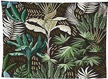 WSJIJY Tapestry Wall Hangings,Animal Plant Print