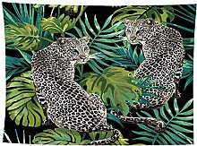 WSJIJY Tapestry Wall Hangings,Animal Plant Print
