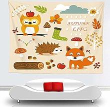 WSJIJY Tapestry Wall Hangings,Animal Printed