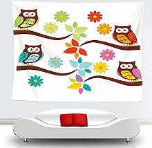 WSJIJY Tapestry Wall Hangings,Animal Woodpecker