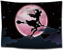 WSJIJY Tapestry Wall Hangings Funny Halloween