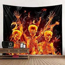 WSJIJY Tapestry Wall Hangings Halloween Print