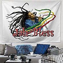 WSJIJY Tapestry Wall Hangings,Hippie Jamaican