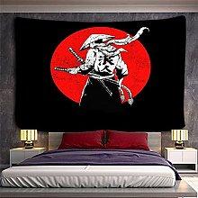 WSJIJY Tapestry Wall Hangings Japanese Samurai