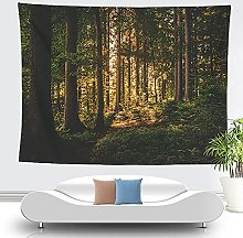 WSJIJY Tapestry Wall Hangings Landscape Print