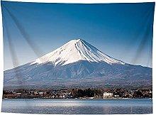 WSJIJY Tapestry Wall Hangings Mount Fuji Print