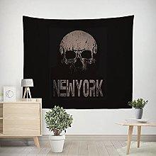WSJIJY Tapestry Wall Hangings Skull Print Tapestry