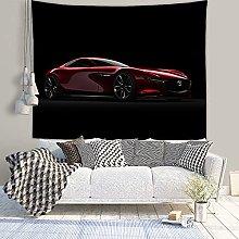 WSJIJY Tapestry Wall Hangings Sports Car Print